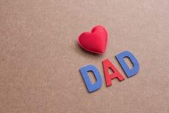 Jour de pères Photographie stock libre de droits