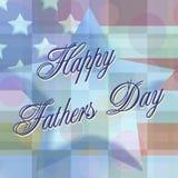 Jour de pères heureux 3 Photos stock