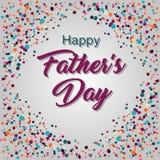 Jour de pères heureux Photographie stock