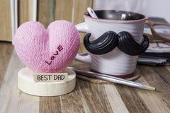 Jour de pères heureux Image stock