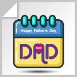 Jour de pères icons_8 Photo libre de droits
