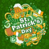 Jour de Patricks de saint Images libres de droits