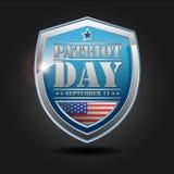 Jour de patriote - 11 septembre Image stock