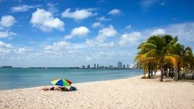 Jour de plage Photographie stock