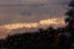 Jour de pluie à Salonique Photographie stock libre de droits