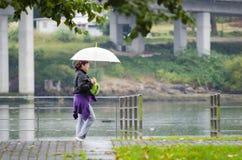 Jour de pluie Images libres de droits