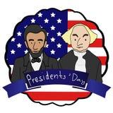 Jour de président Photographie stock