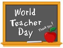 Jour de professeur du monde Image libre de droits