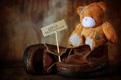 Jour de protection d'enfants personne Images libres de droits