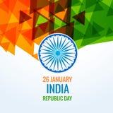 Jour de République de conception de vecteur d'Inde Photos libres de droits