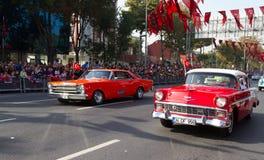Jour de République des célébrations de la Turquie Images stock