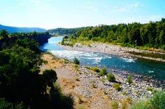 Jour de rivière Photos stock