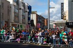 Jour de rue Patrick dans Limerick Photo libre de droits