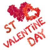 Jour de rue Valentine Photographie stock