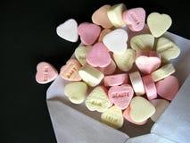 Jour de rue Valentine Images stock