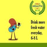 Jour de santé du monde 09 Photo libre de droits