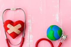 Jour de santé du monde, soins de santé et concept médical Photo libre de droits