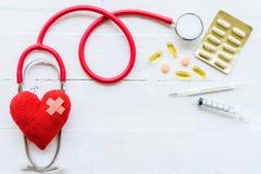 Jour de santé du monde, soins de santé et concept médical Photo stock