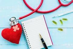 Jour de santé du monde, soins de santé et concept médical Images stock
