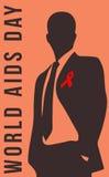 Jour de SIDA, et mémorial Images libres de droits