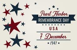 Jour de souvenir de Pearl Harbor photos libres de droits