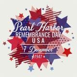 Jour de souvenir de Pearl Harbor photographie stock libre de droits