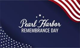 Jour de souvenir de Pearl Harbor images libres de droits