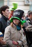 Jour de St Patrick s à Bucarest Photographie stock libre de droits