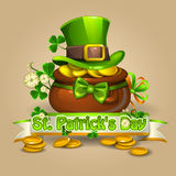 Jour 2 de St Patricks Image libre de droits