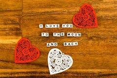 Jour de St Valentine, fond, jour de valentines, symbole Image stock