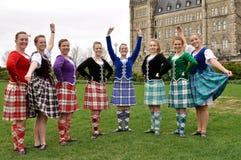 Jour de Tartan à Ottawa Photos stock