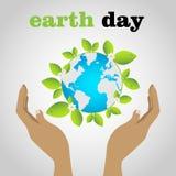 Jour de terre Image libre de droits