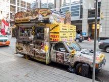 Jour de Toronto de viande de rue de camion de nourriture Images stock