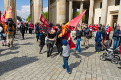 Jour de travail international à Berlin Photos stock