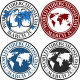 Jour de tuberculose du monde illustration stock