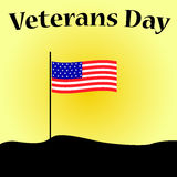 Jour de vétérans aux Etats-Unis Images libres de droits