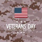 Jour de vétérans Etats-Unis Photos libres de droits