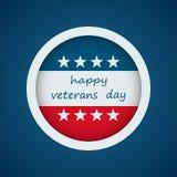 Jour de vétérans heureux Photographie stock