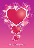 Jour de Valentineâs Illustration de Vecteur