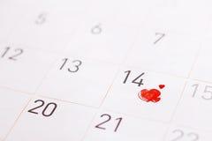 Jour de Valentine Photo libre de droits