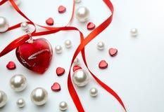 Jour de Valentine d'art Photos stock
