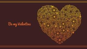 Jour de valentines élégant Image libre de droits