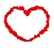 Jour de valentines. Coeur Image libre de droits