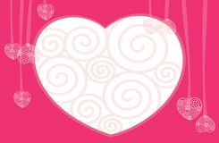 Jour de Valentines. Coeurs. Image stock