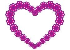 Jour de valentines de coeur Photo libre de droits