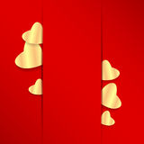 Jour de valentines de fond Photographie stock libre de droits