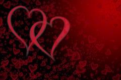 Jour de valentines de fond Photographie stock