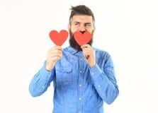 Jour de valentines et concept d'amour Le hippie célèbre le jour de valentines Photos stock
