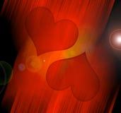 Jour de Valentines, fond Photo libre de droits