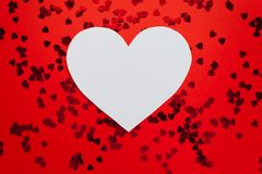 Jour de valentines heureux Photo stock